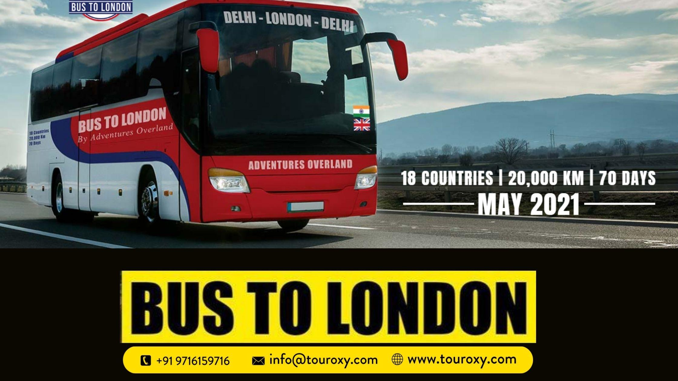 Now enjoy Historical Tour from DELHI to London